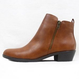 F21 ~ Women's Zippered Ankle Booties ♡